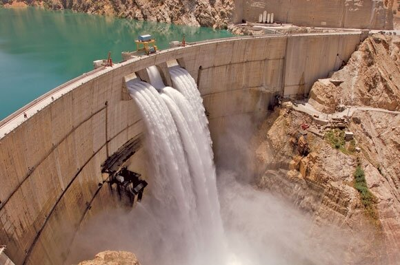 رهاسازی ۵۵ میلیون مترمکعب آب برای تولید برق اضافه