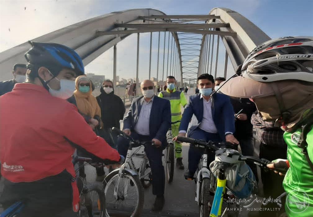 طرح سه شنبه های بدون خودرو بر روی پل سفید