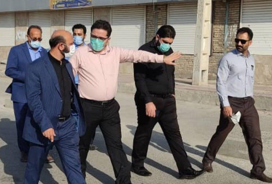 رئیس شورای اسلامی شهر اهواز از پایانه های مسافربری بازدید کرد
