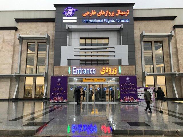۳ پروژه در فرودگاه اهواز با حضور وزیر راه به بهره برداری رسید