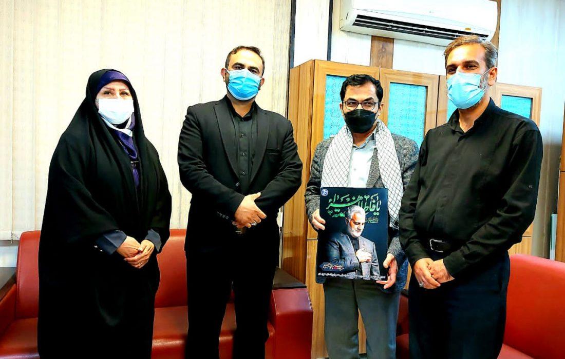 به مناسبت گرامی داشت هفته دفاع مقدس از مدیر روابط عمومی شرکت فولاد خوزستان تجلیل شد.