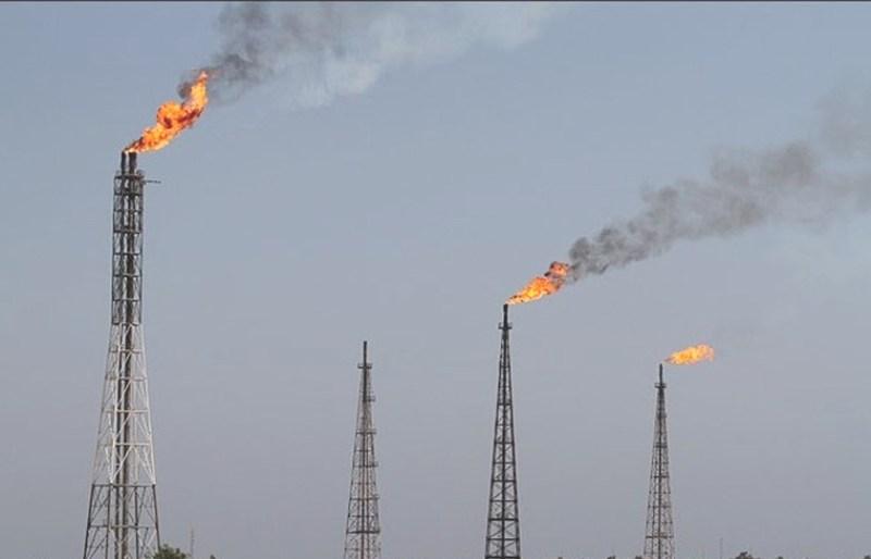 پیشرفت ۹۵ درصدی پروژه جمع آوری گازهای مشعل مارون ۶