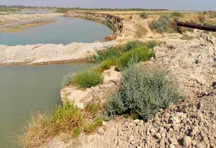 برخورد با متصرفان بستر رودخانه در بالارود اندیمشک