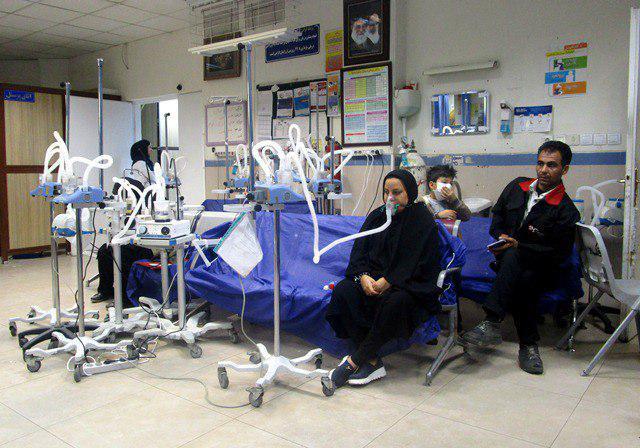 مراجعه سه هزار و ۹۲۳ خوزستانی بدلیل تنگی نفس ناشی از بارندگی به بیمارستان