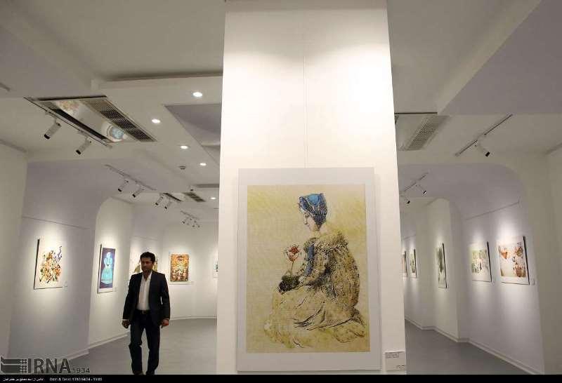 ۳۰ اثر رئال نقاشی در باغموزه شوش به نمایش درآمد