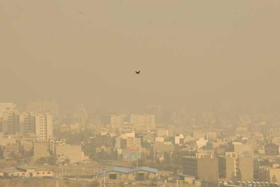 هشدار سطح زرد افزایش غلظت آلاینده ها در خوزستان
