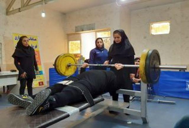 بانوان خوزستانی در مسابقات پارا وزنهبرداری کشور مدال آور شدند