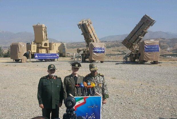 جدیدترین سامانه موشکی پدافند هوایی تحویل ارتش شد