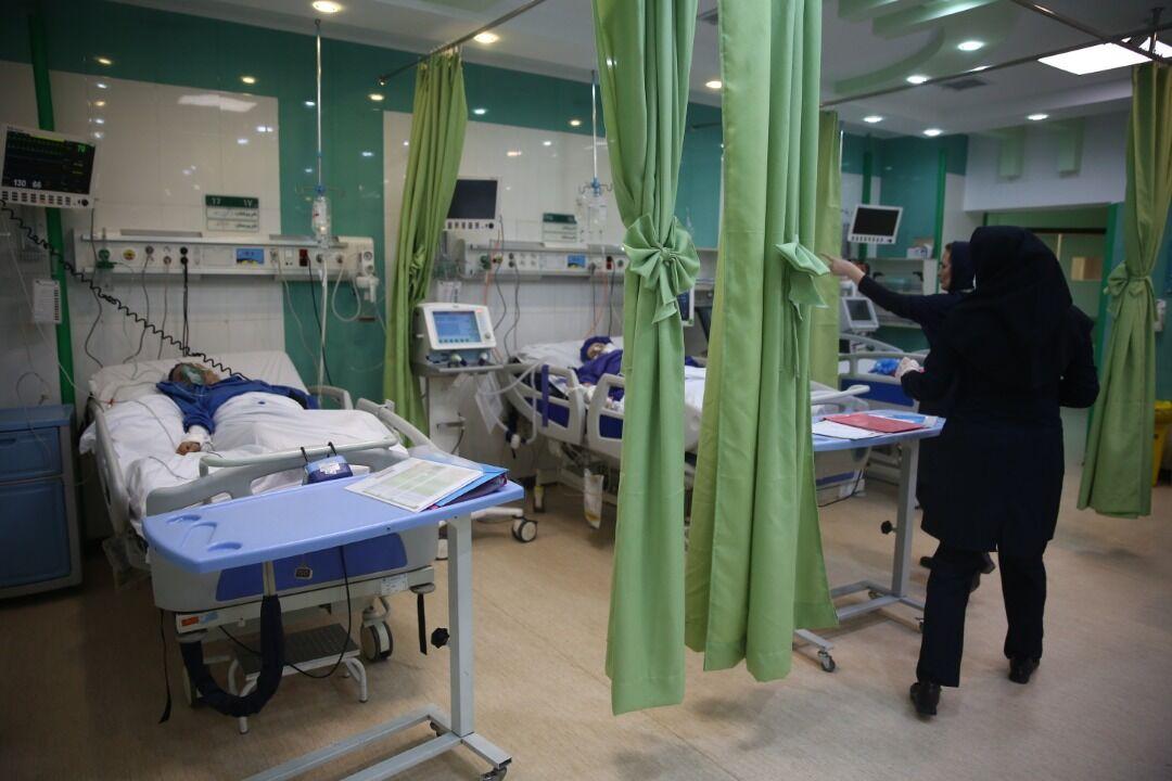 تخت های بیمارستان گلستان اهواز افزایش یافت
