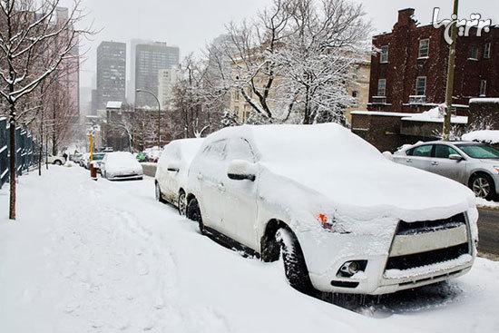 اسکان اضطراری سرنشینان ۱۰ خودرو گرفتار در برف تاراز