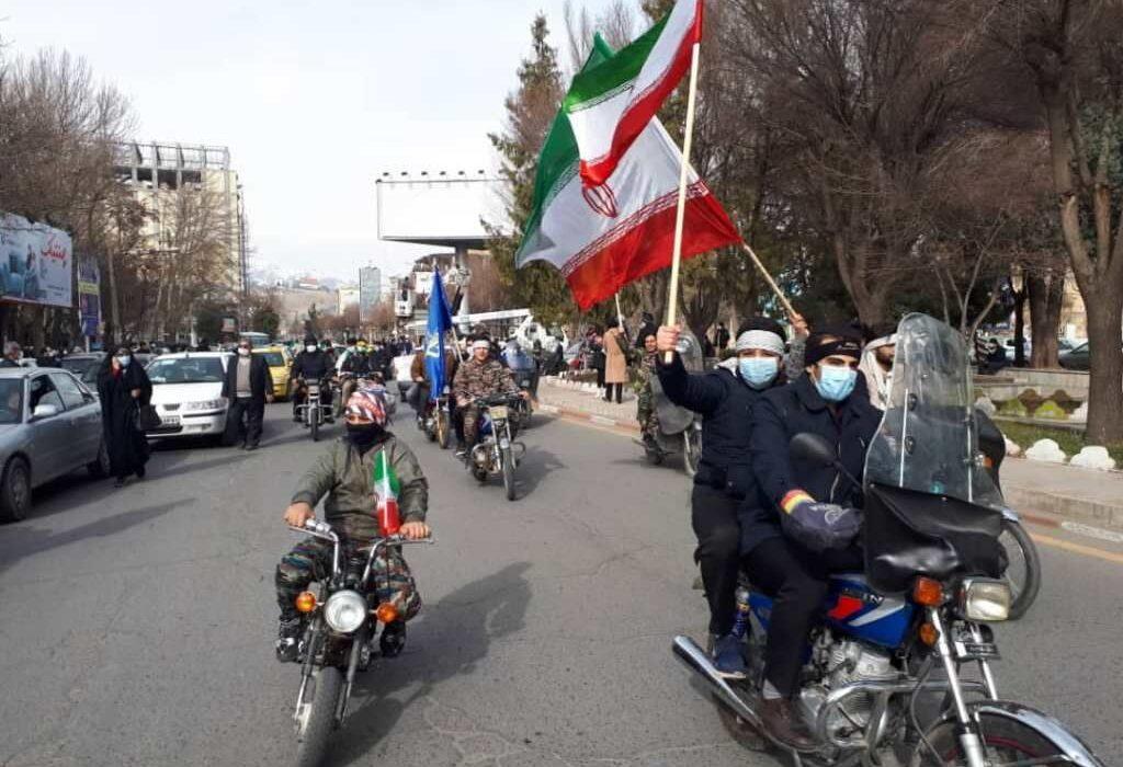 راهپیمایی خودرویی و موتوری ۲۲ بهمن در خوزستان آغاز شد
