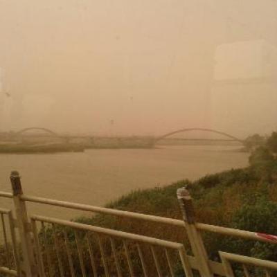 هشدار سطح زرد هواشناسی در خصوص گرد و خاک منطقه ای