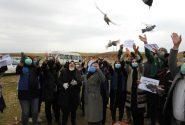 آیین گرامیداشت روز ملی هوای پاک در اندیمشک برگزار شد