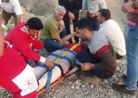 کوهنورد مصدوم در ارتفاعات تنگوان نجات یافت