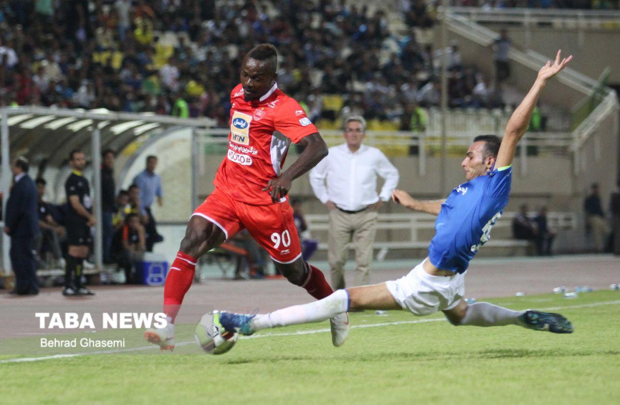 گزارش تصویری تابا از بازی استقلال خوزستان با پرسپولیس
