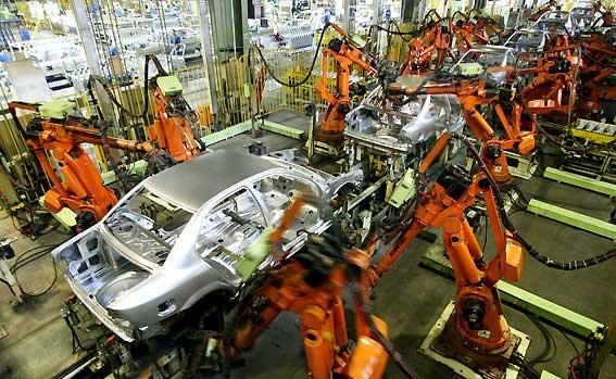 تولید ۲۵ خودرو متوقف شد