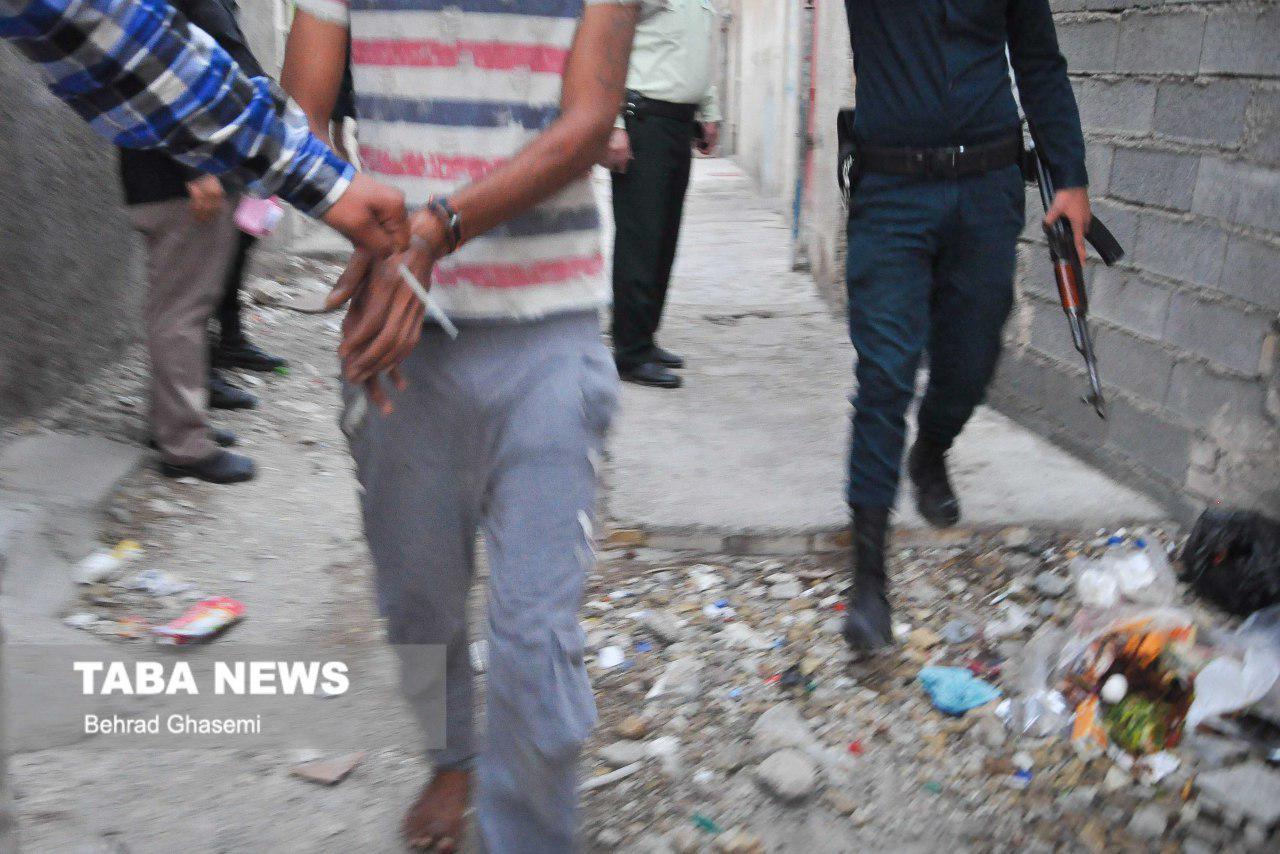 جمع آوری ۳۰۰معتاد متجاهر و کارتن خواب از سطح شهر آبادان