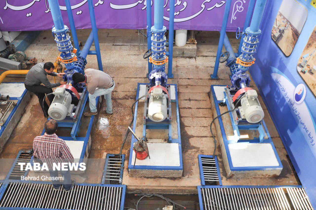 پروژه تصفیه خانه غرب اهواز به مناقصه گذاشته میشود